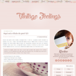 Download: Template Vintage Feelings (Responsivo)