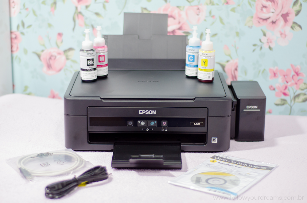 Unboxing Multifuncional Ecotank Epson L220